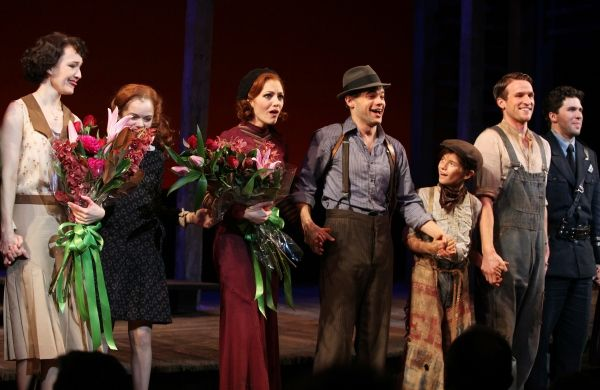 BONNIE & CLYDE Opening Night Curtain Call | Behind the