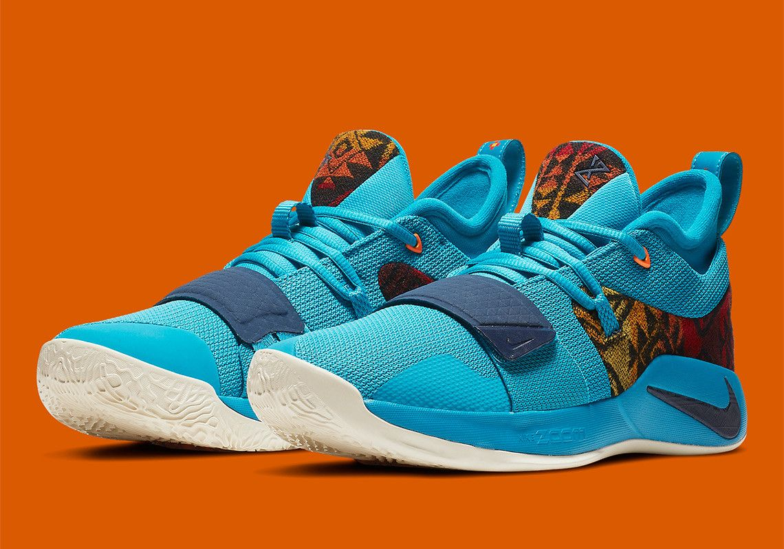 new concept 10f73 4a943 Nike PG 2.5 Pendleton First Look Release Info  thatdope  sneakers  luxury   dope