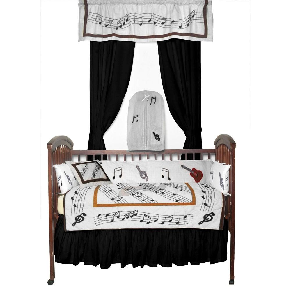 Music Quilt Crib Bedding Set The 6 Piece Matching Is Perfect Way For