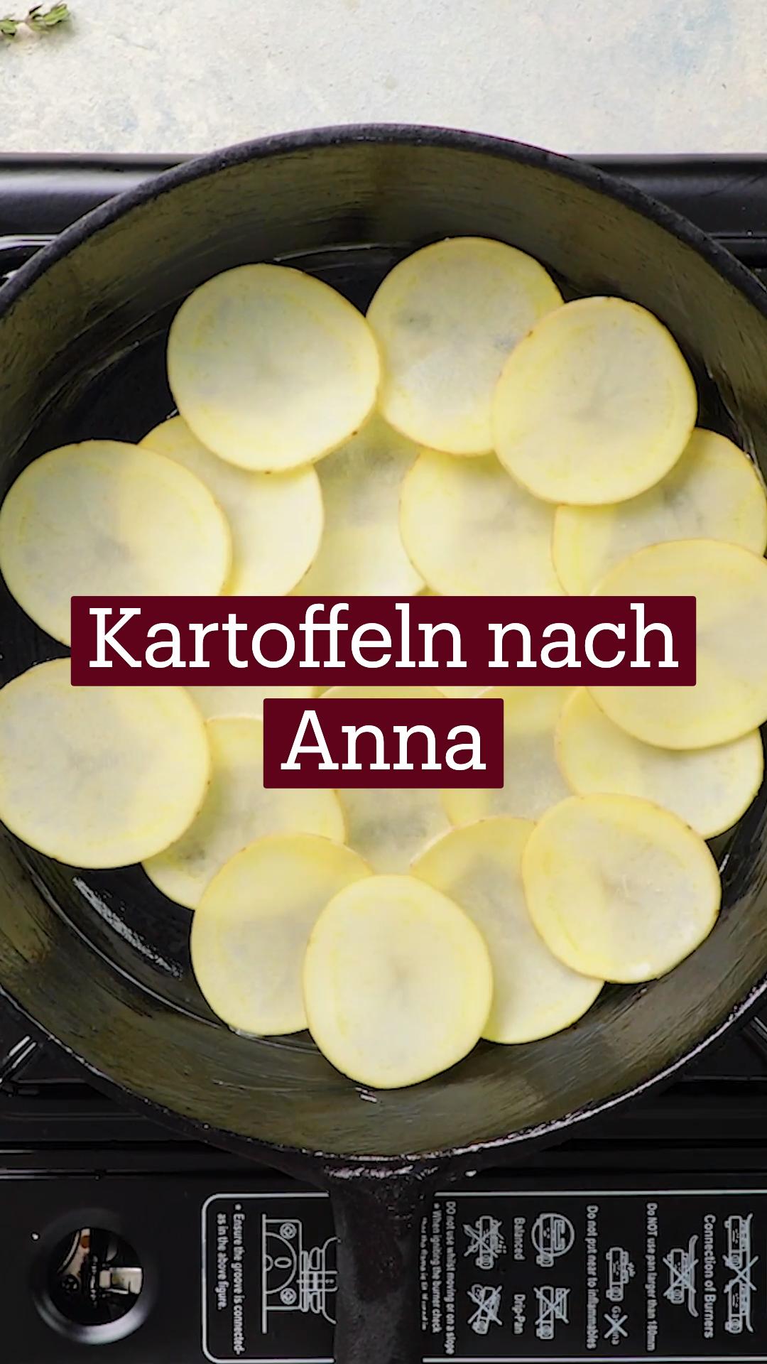 Kartoffeln nach Anna