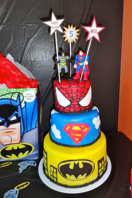 Cool Superhero Birthday Cake With Images Superhero Birthday Cake Funny Birthday Cards Online Necthendildamsfinfo