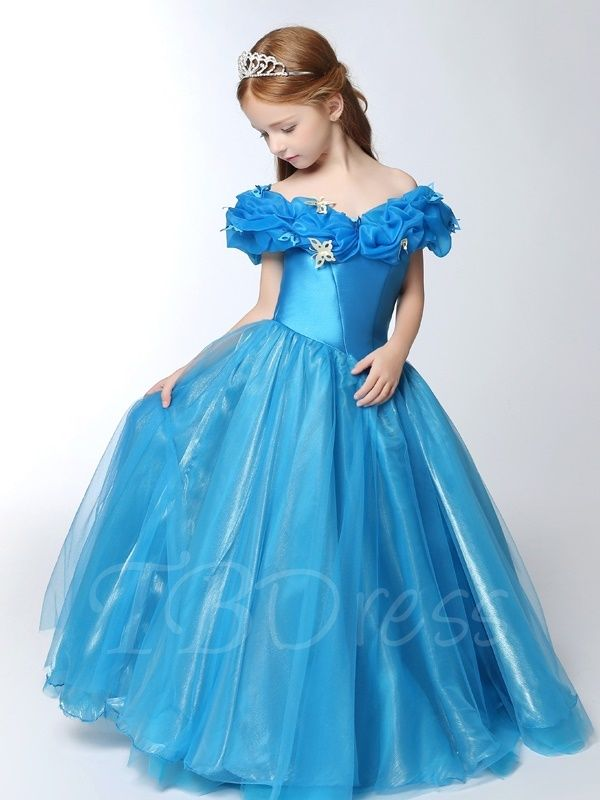 4bf6b0c0e Cosplay Christmas Butterflies Princess Girls Dress