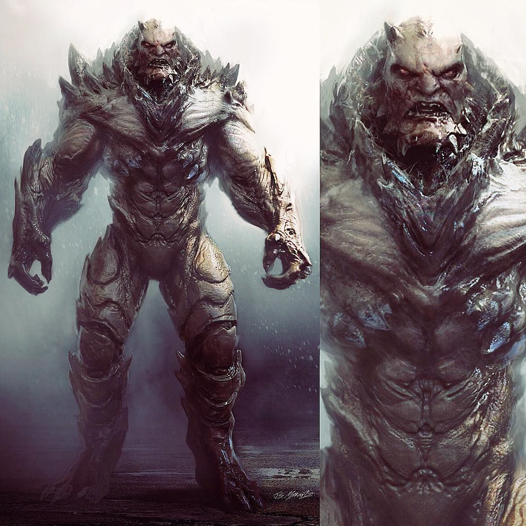 Doomsday Early Concept Dc Comics Art Comic Pictures Marvel