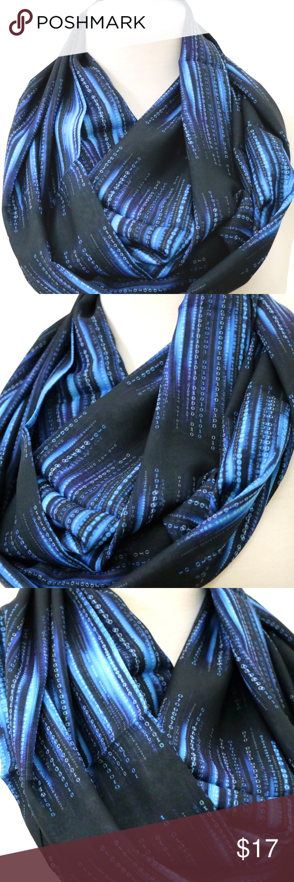 B78 Metallic Sequin Raw Edge Black Gauze Texture Long Shawl Scarf Boutique