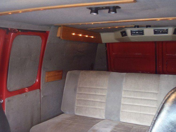 1990 Chevrolet G Series G20 Van Interior Custom Vans Gmc Vans