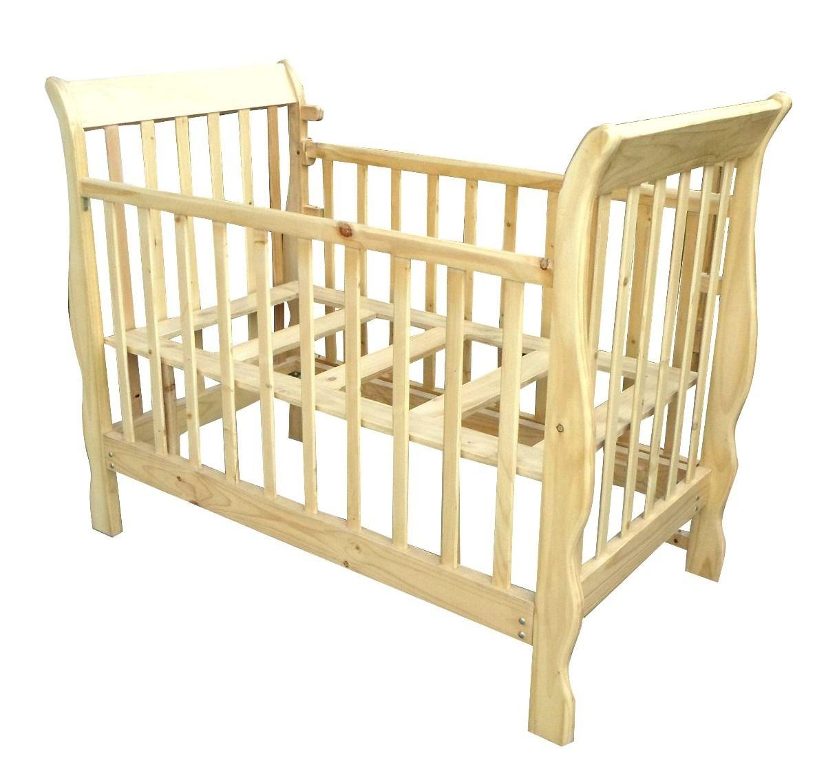 cuna para bebe en madera pino | Ideas para el hogar | Pinterest | Room