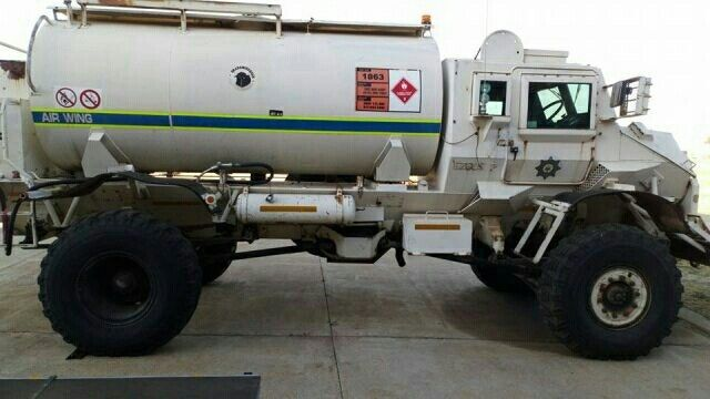 South African Police Service Saps Airwing Jet Fuel Carrier Military Vehicles Military Jet Fuel