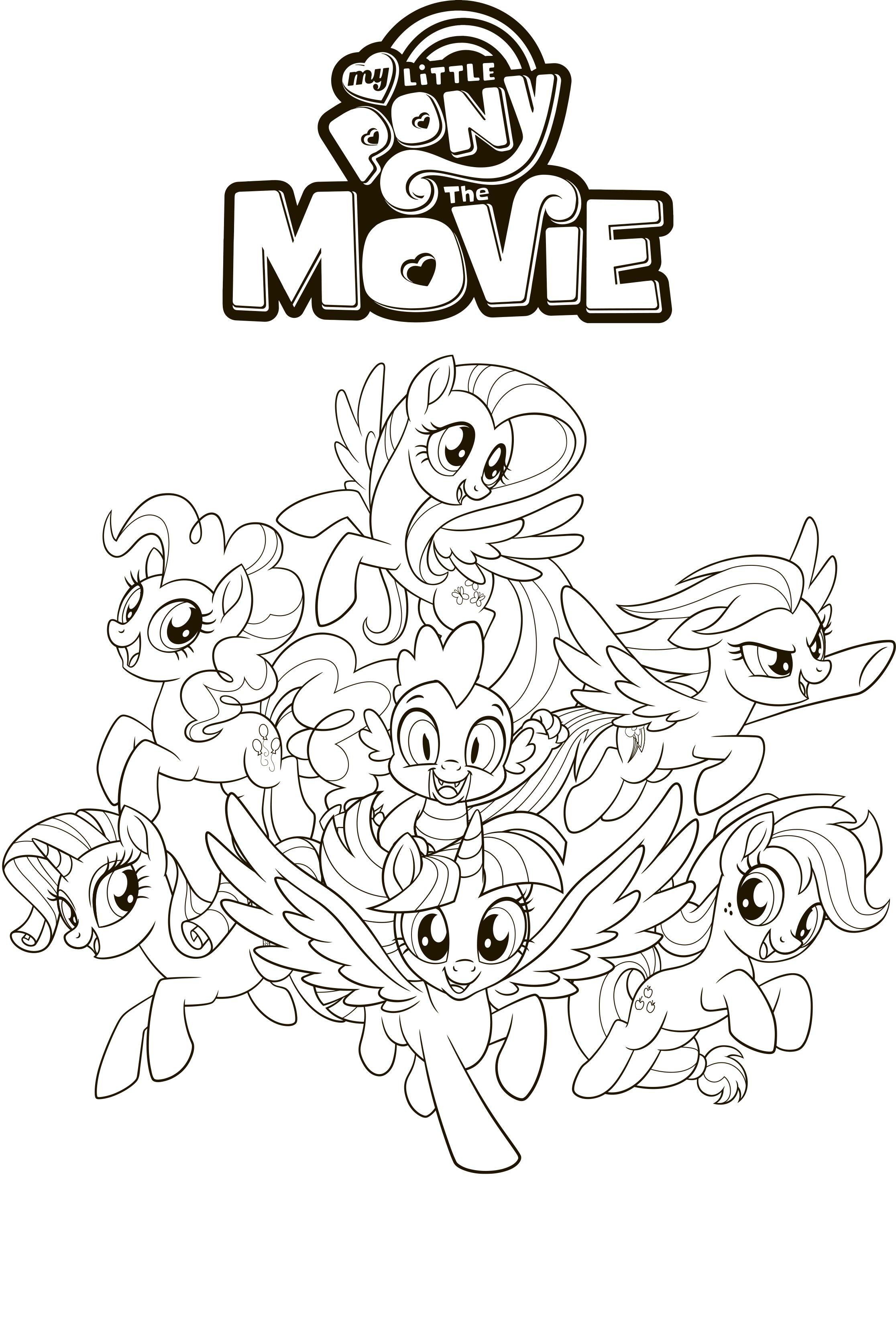 Rainbow Dash Princess Celestia Pinkie Pie Movie Fluttershy Equestria Girl My Little Pony Coloring My Little Pony Movie My Little Pony Characters