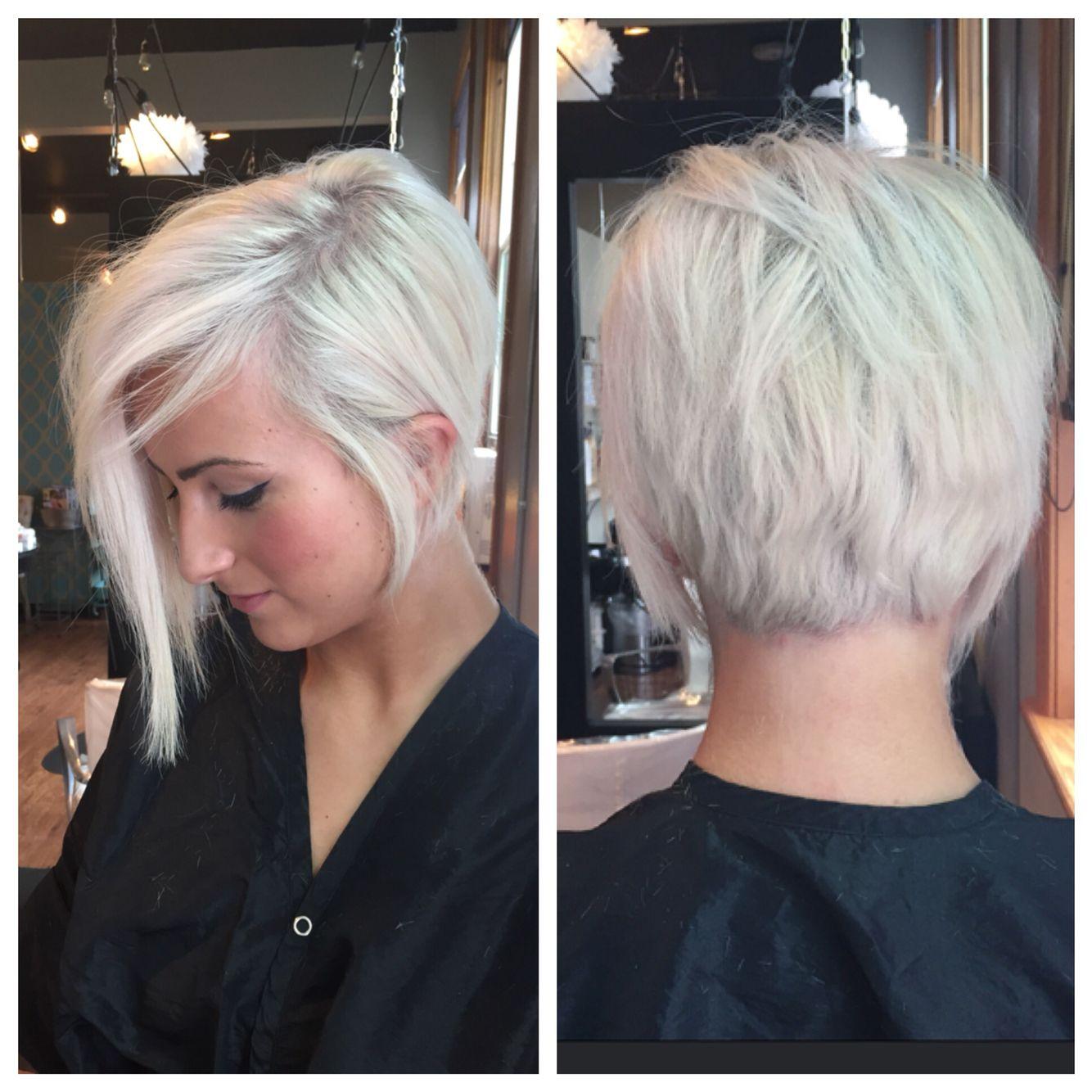 Went even shorter Long a symmetrical pixie cut  New Hair