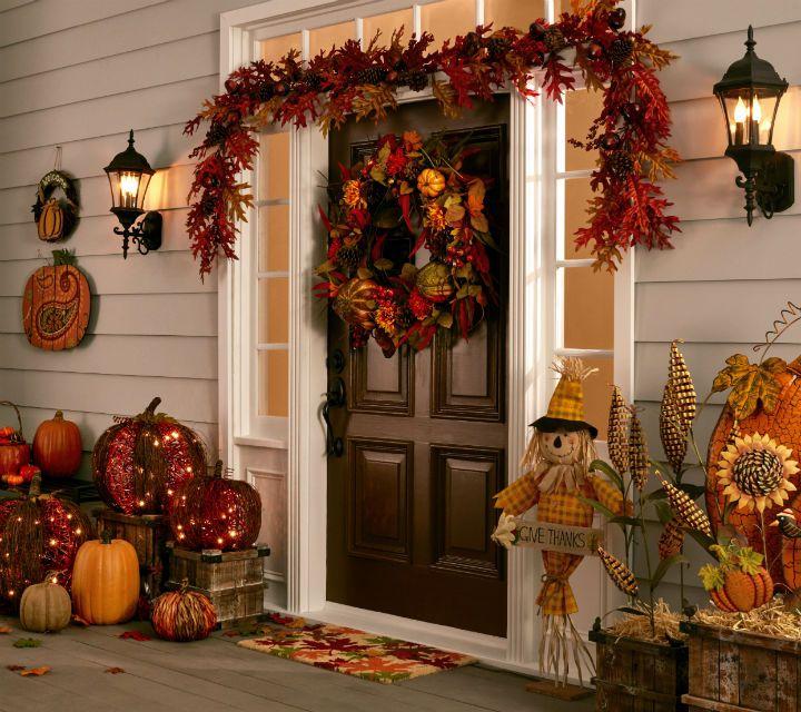 Fall Outdoor Décor Thanksgiving Decor