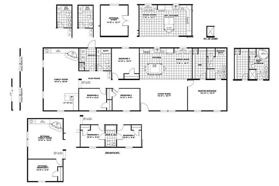"Oakwood Homes Floor Plans floorplan mvp28764a ""ltmander"" 