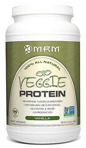 Mrm All Natural Veggie Protein Vanilla 25 Pound Check Out The Image By Visiting The Link Vegan Protein Sources Vegan Protein Powder Protein