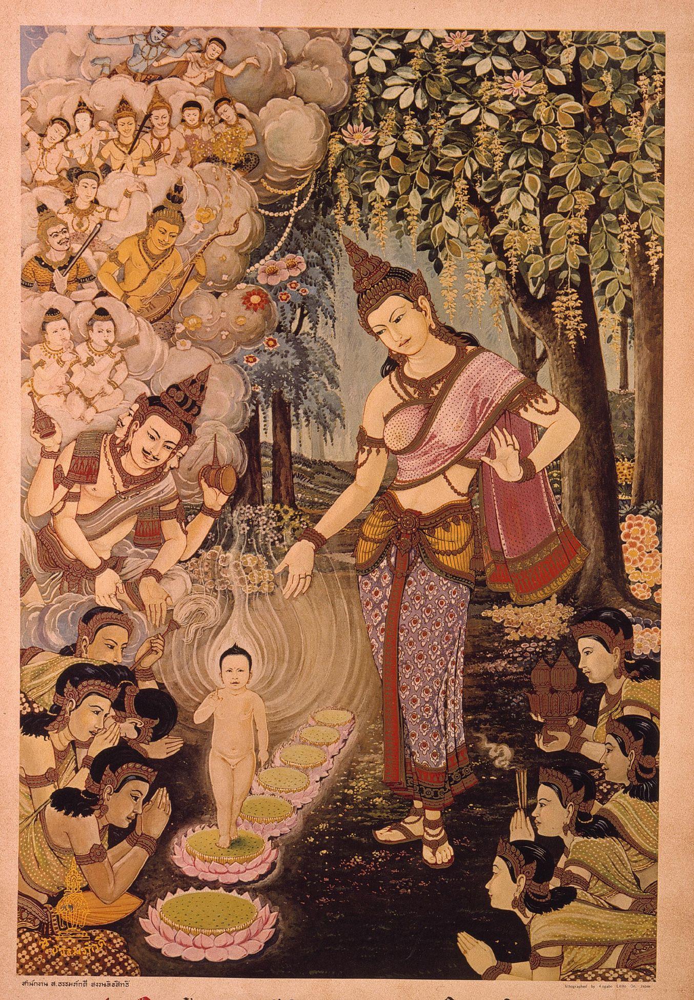 материал все о рождении будды и картинки сильный