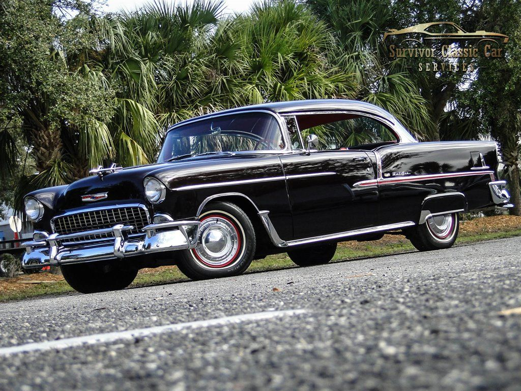 1955 Chevrolet BEL AIR : Survivor Classic Car Services – Tampa – 2221 South Dock…