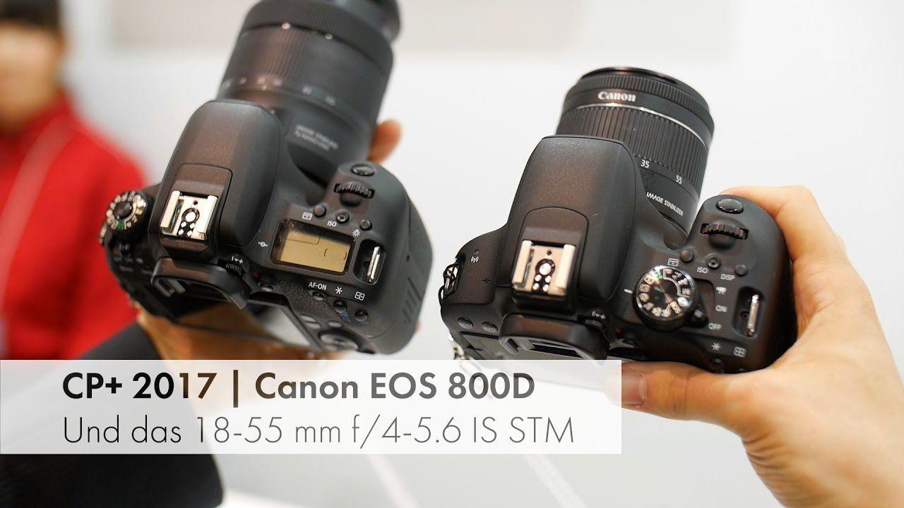 Canon EOS 800D - Hands-On Test von der CP+ 2017 [Deutsch