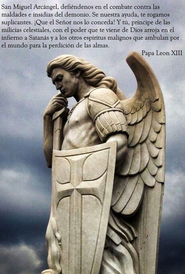 Tarjeta de Oración San Miguel Arcangel/ Prayer Card St. Michael ...
