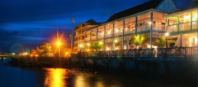 Fort Young Hotel Dominica Hotel Dominica GPS Map Travel Guide