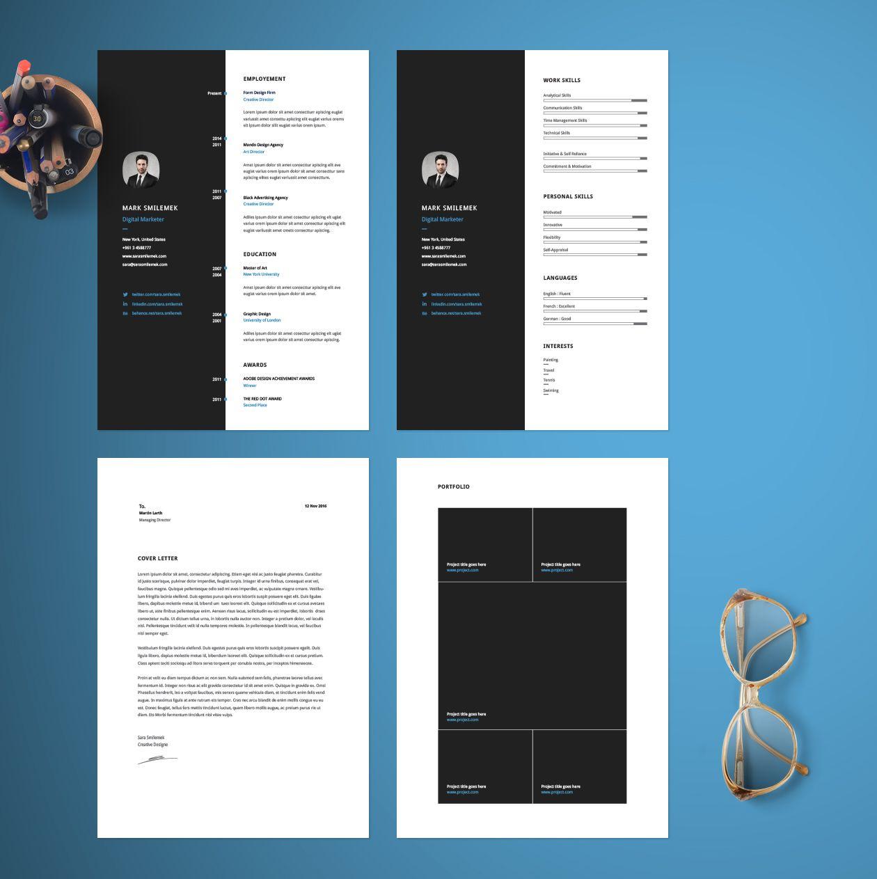 Vertical Resume Cv Template Indesign Resume Template Best Free Resume Templates Downloadable Resume Template
