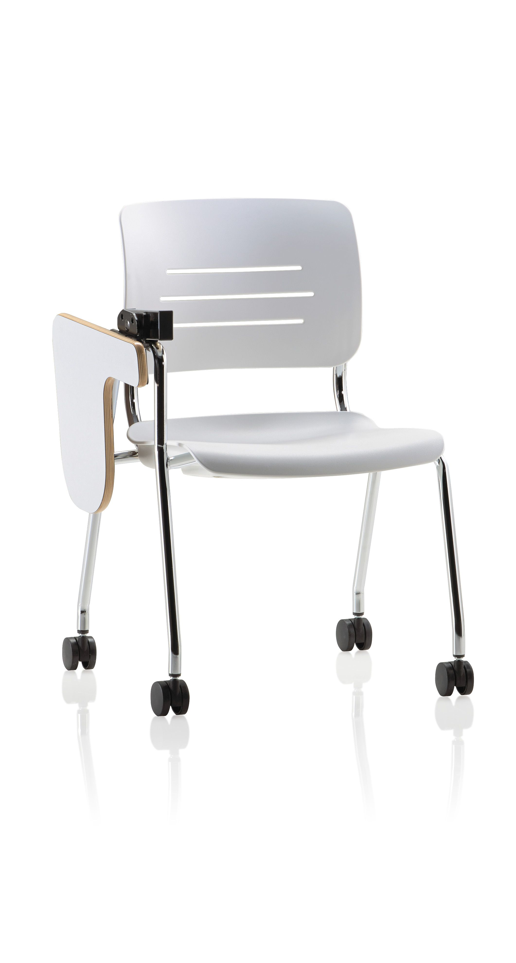 Grazie 4leg with upholstered seat g2 tablet arm plus