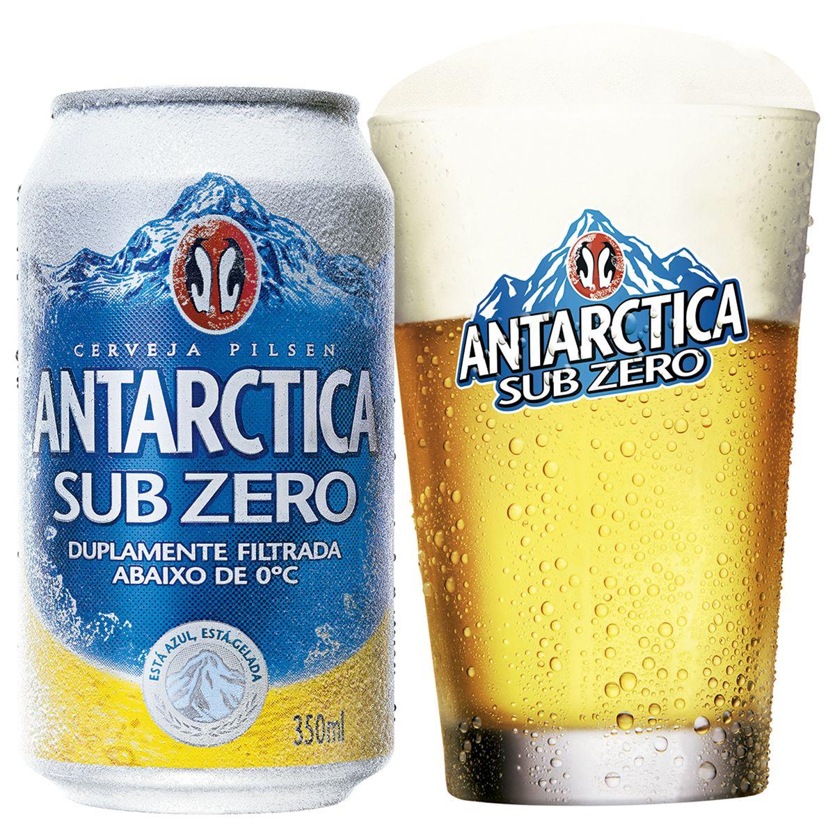 Antarctica Sub Zero Pilsner 2 5 Cerveja Sub Zero
