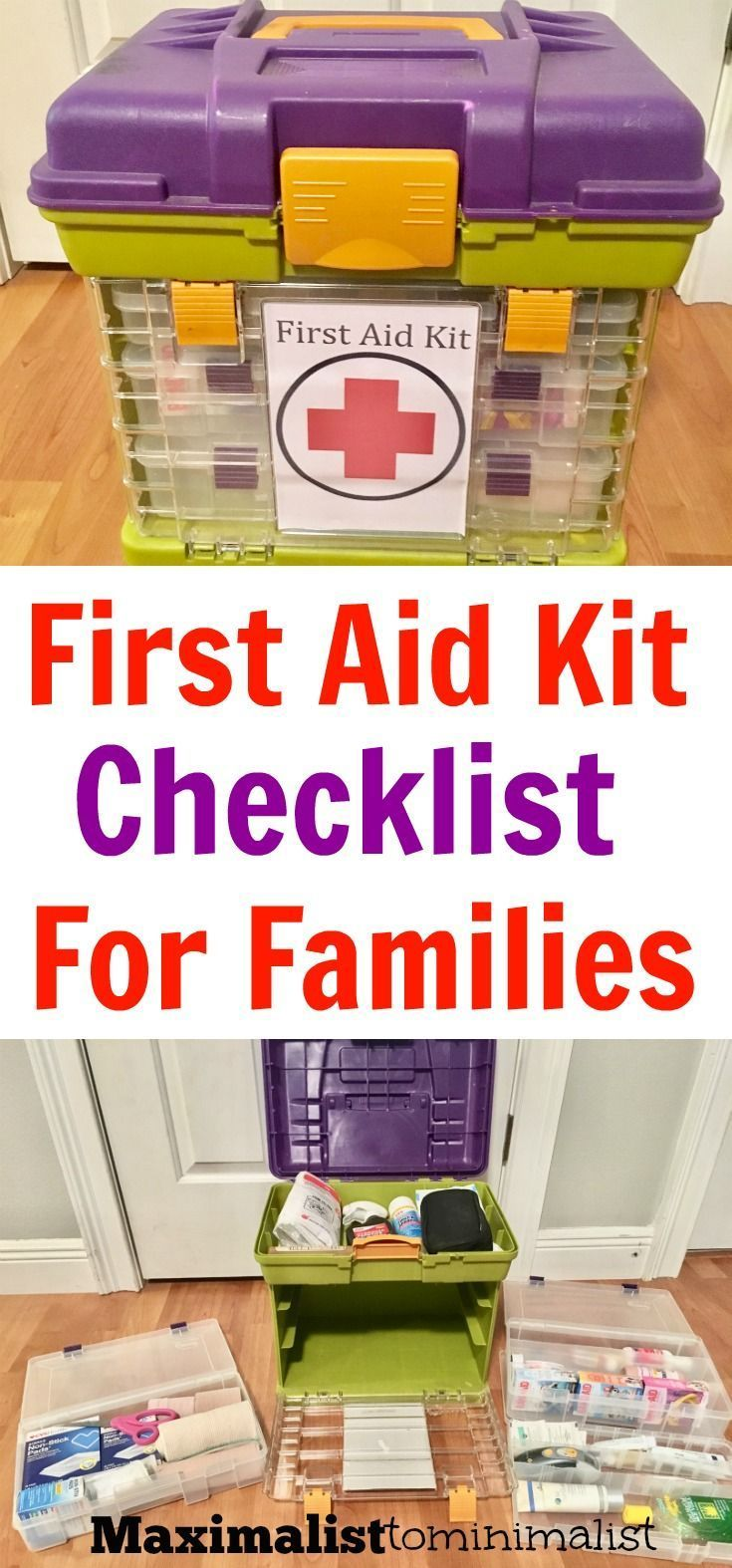 First Aid Kit Checklist for Families to Use When Traveling