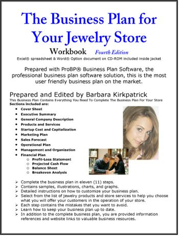 The Business Plan for Your Jewelry Store wire wrapping for - retail business plan template