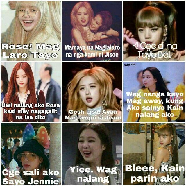 Tagalog Blackpink Meme | Blackpink, Tagalog, Memes