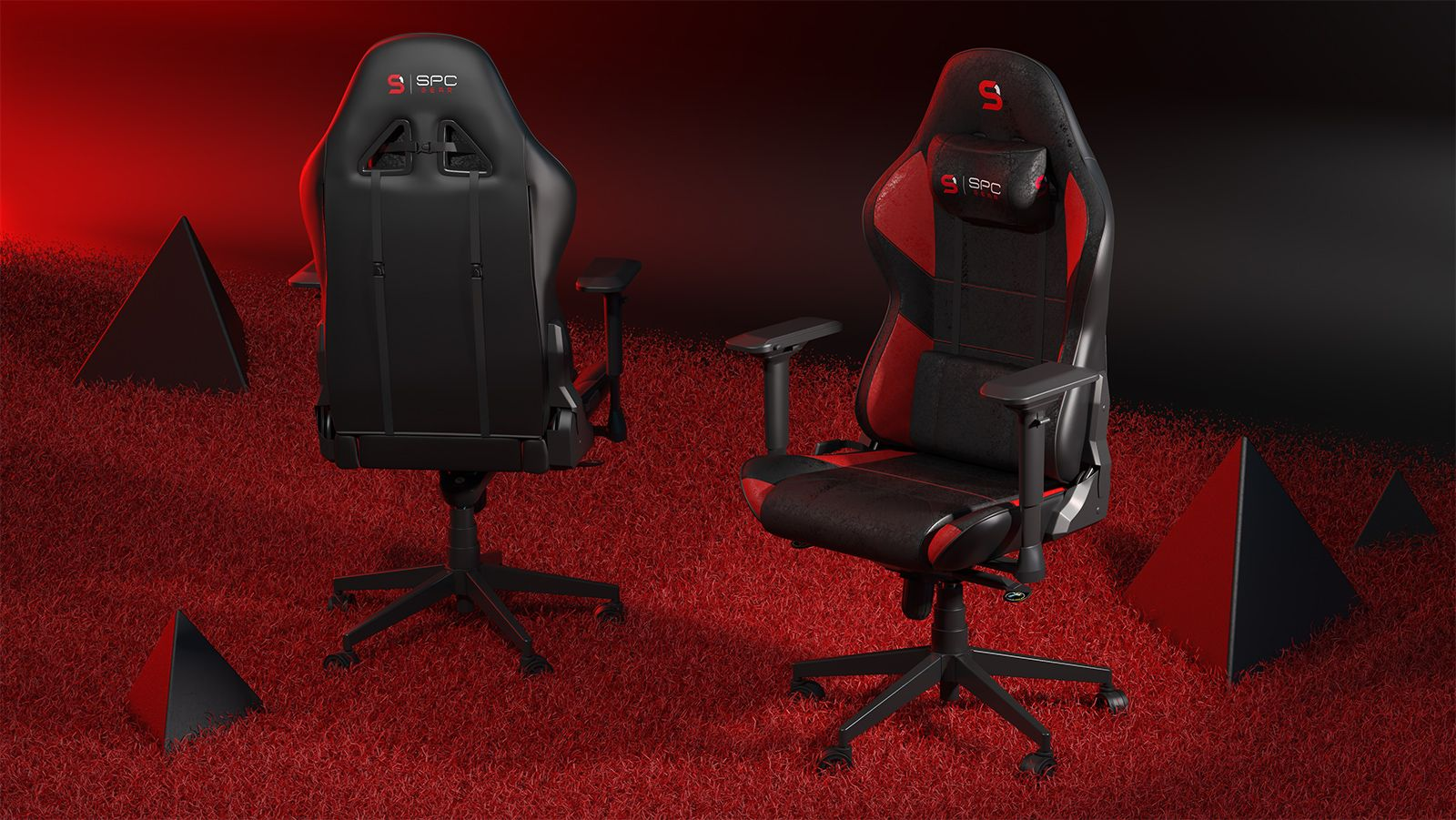 Spc Gear Introduces Sr600 Premium Gaming Chairs With Excellent Comfort And Bold Design Gaming Chair Design Games