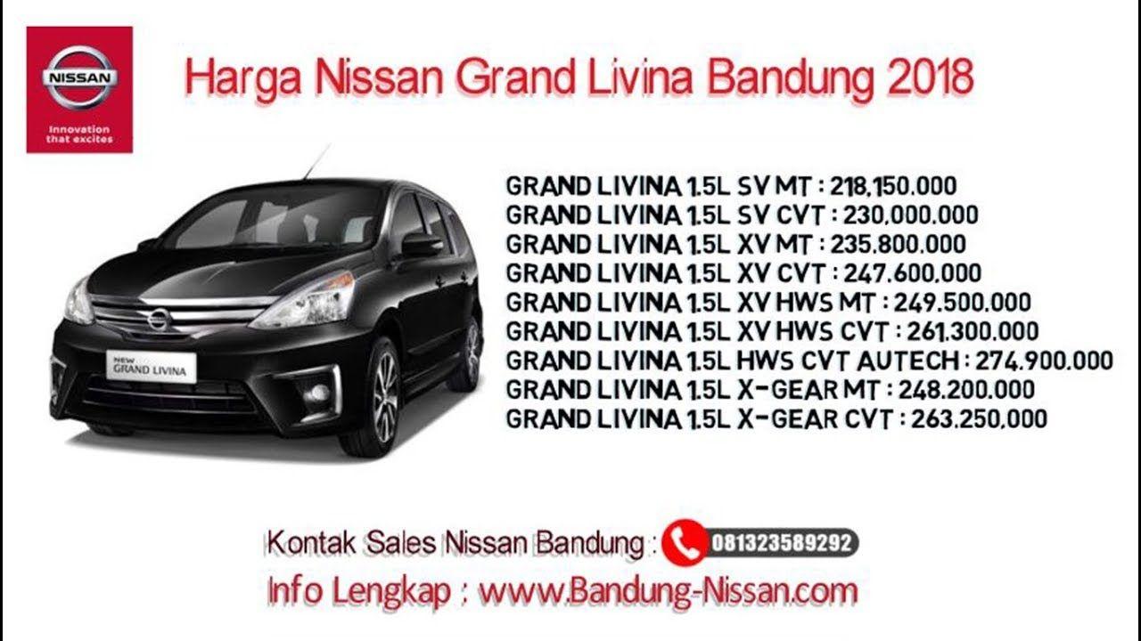 Harga Nissan Grand Livina Dealer Nissan Bandung