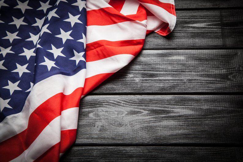 American Flag Wallpaper HUGE Peel and Stick American