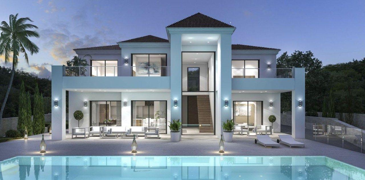 Luxury Modern Villa Architecture Ideas 02 Modern house