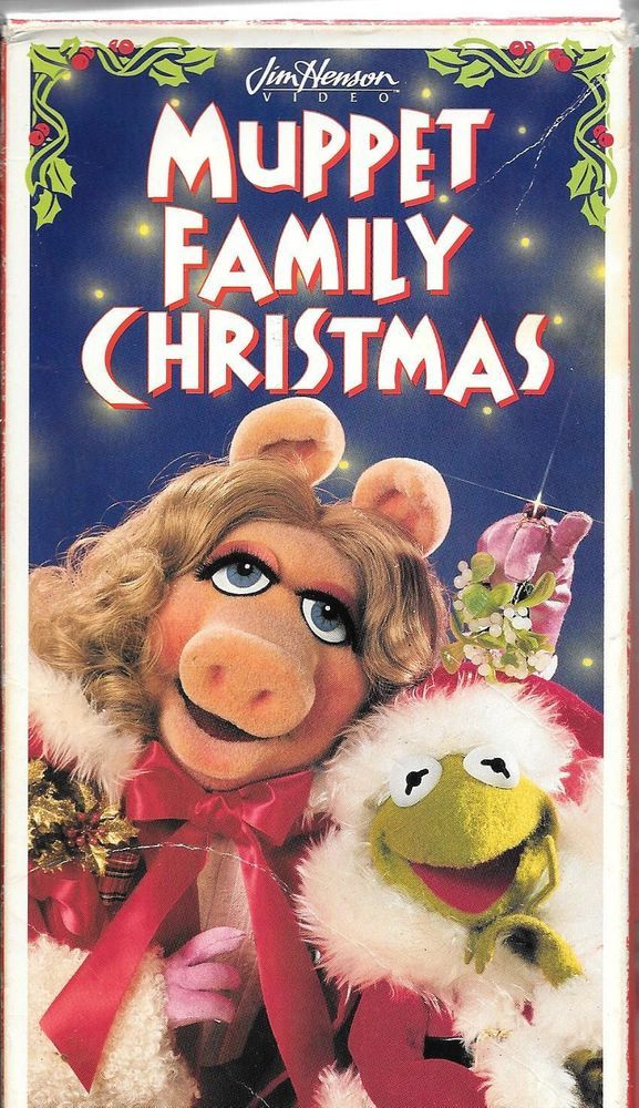muppet family christmas vhs and dvd my favorite christmas tradition with my girls i hope we continue with the grandsons