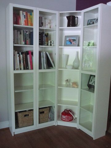 Ikea S Billy Bookcases Set At A Corner
