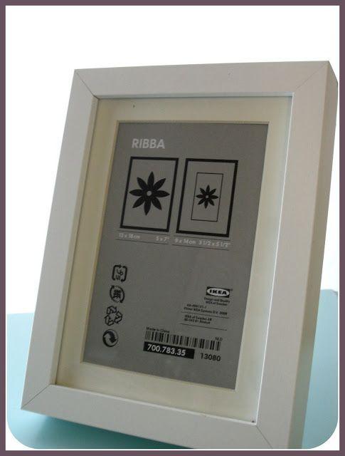 Twenty Something Make An Ikea Ribba Frame A Shadow Box Ikea Box Frame Ribba Frame Shadow Box
