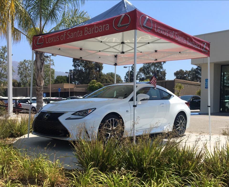 Pop Up tent for Lexus of Santa Barbara Pop up tent, Pop