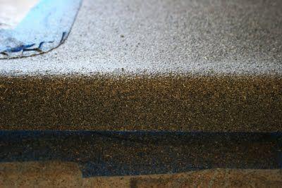 Countertop Fix Part 2 Painting Kitchen Countertops Diy
