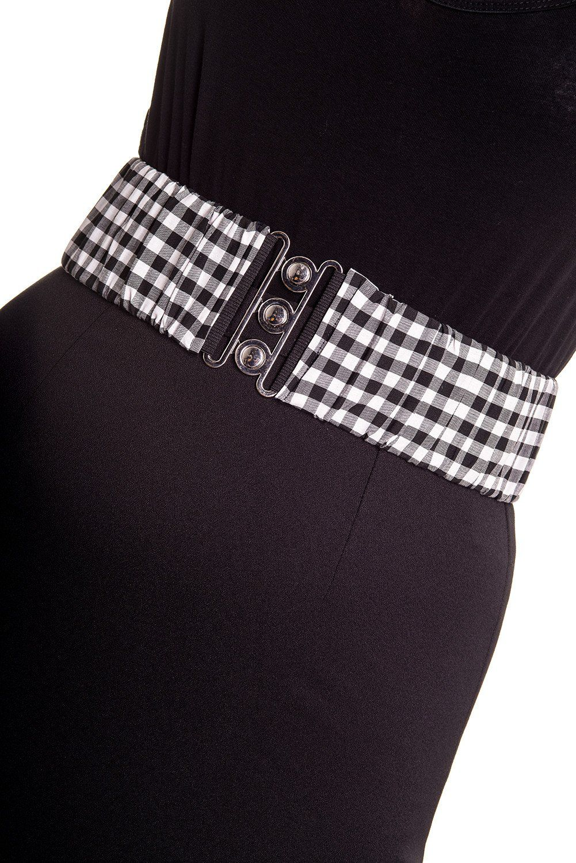 Hell Bunny Elasticated Retro 1950/'s Dress Belt