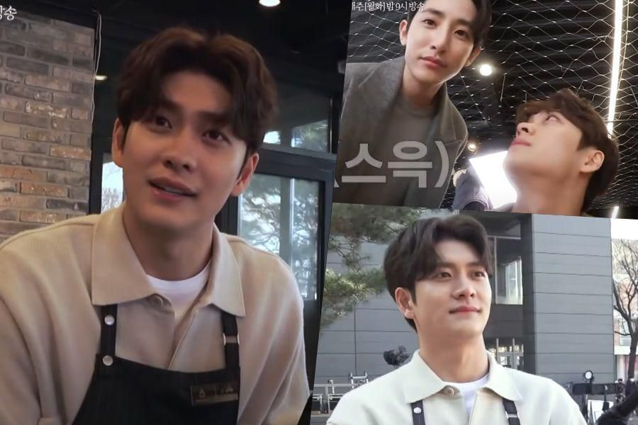 """Watch: Kang Tae Oh Gives Behind-The-Scenes Tour Of His Café In """"Doom At Your Service"""""""