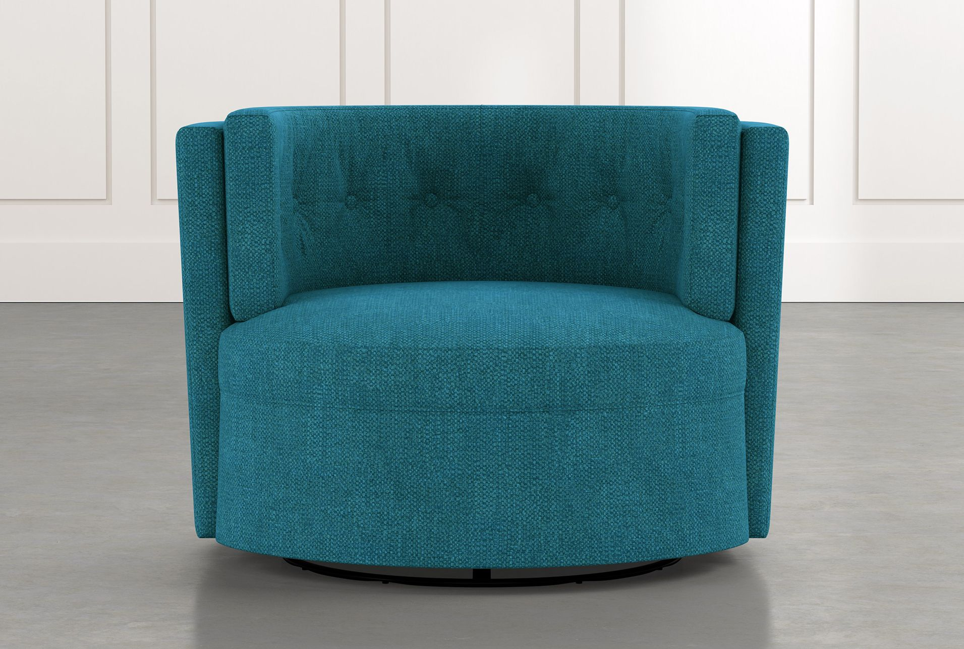Best Aidan Ii Teal Swivel Accent Chair Blue 550 In 2020 400 x 300