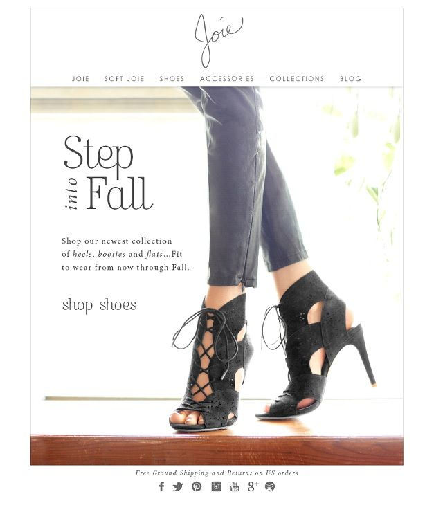 Joie Fall Shoes