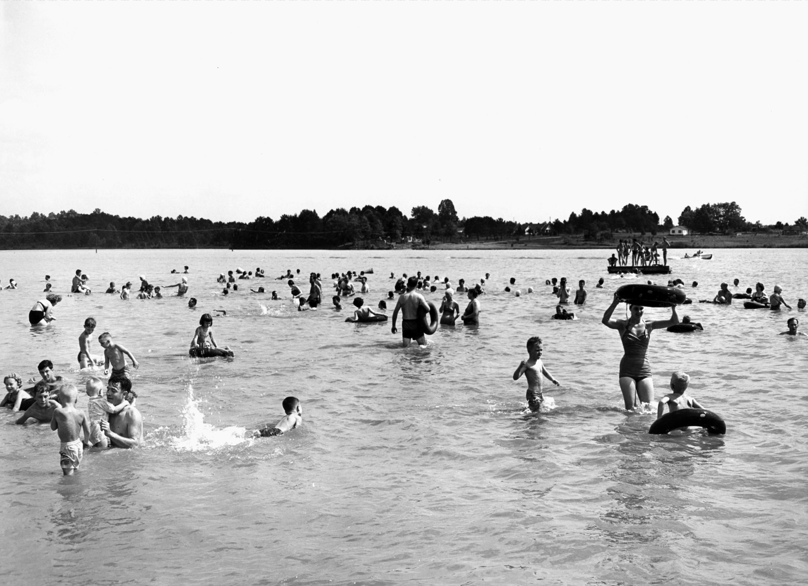 Directions To Acworth Beach Circa 1950s