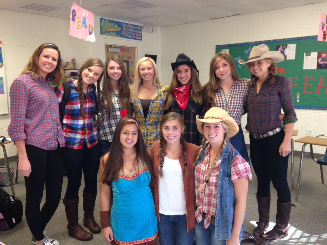 Recalling the Wild West for Spirit Week. Wild west