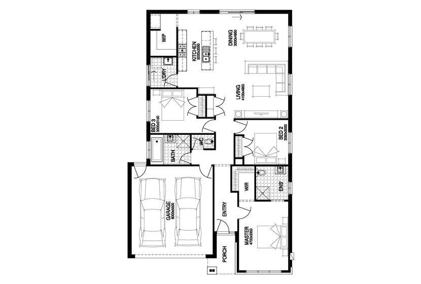 Windsor Windsor 179 Floor Plan Simonds Homes House Design House Plans