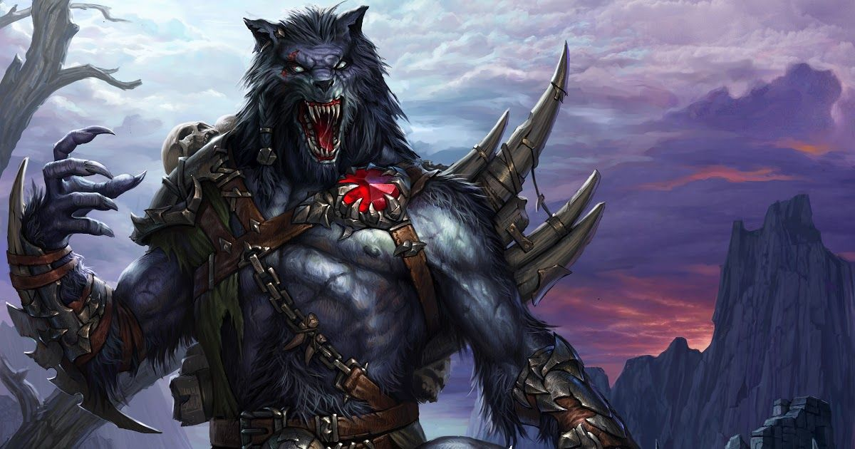 cool anime wallpaper for android Fantasy wolf, Android