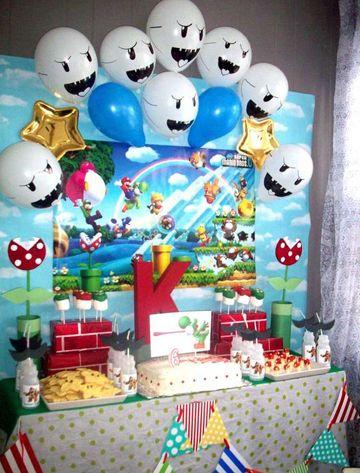 Accesorios De Decoracion De Mario Bros Para Cumpleaños Decoracion De Mario Bros Cumpleaños De Mario Bros Fiesta De Mario Bros