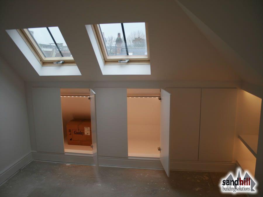 Storage Under Eaves Loft Conversion Bedroom Loft Conversion