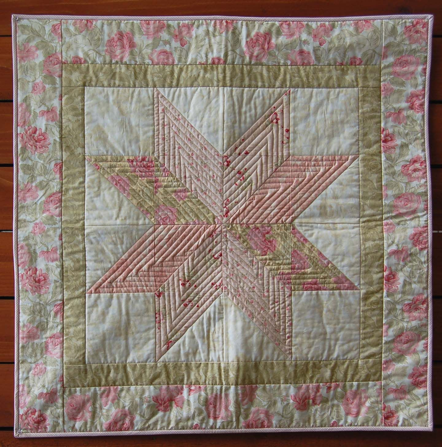 Baby Girl Quilt Patterns | ... is a free pattern for a super quick ... : free baby quilt block patterns - Adamdwight.com