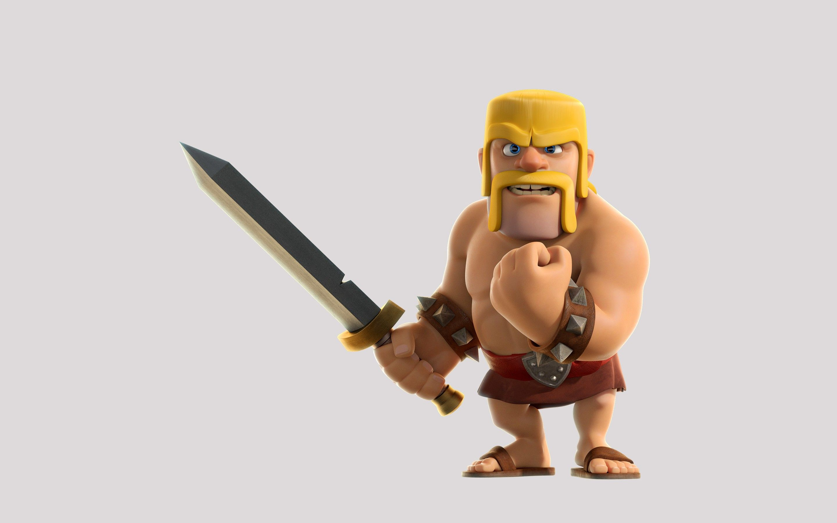 Luxury Barbarian Clash Clans Di 2020 Dengan
