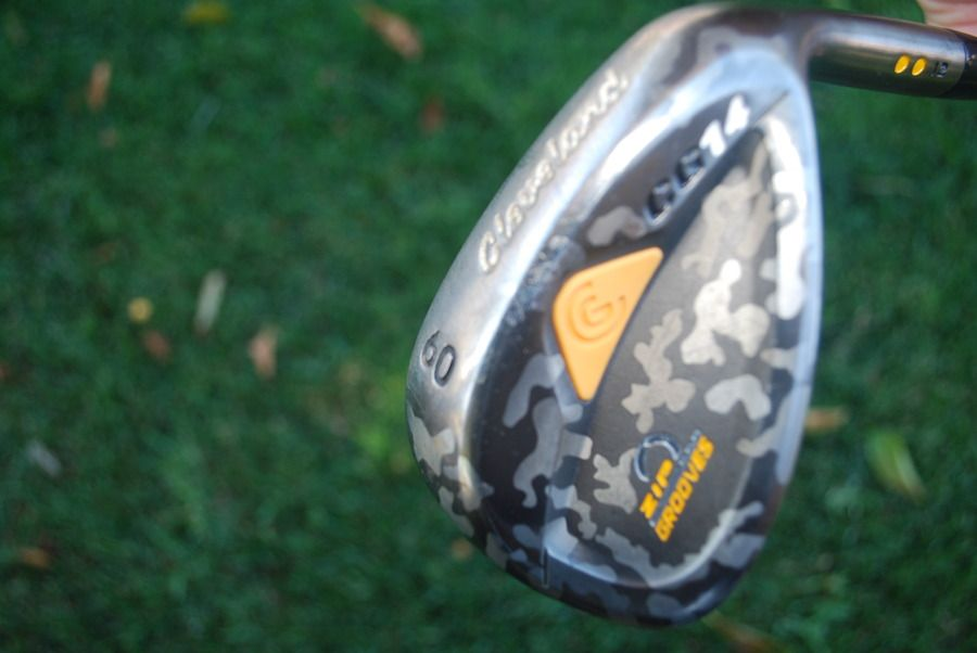Cleveland 60 Degree CAMO wedge For sale! 69.99 Free Ship!