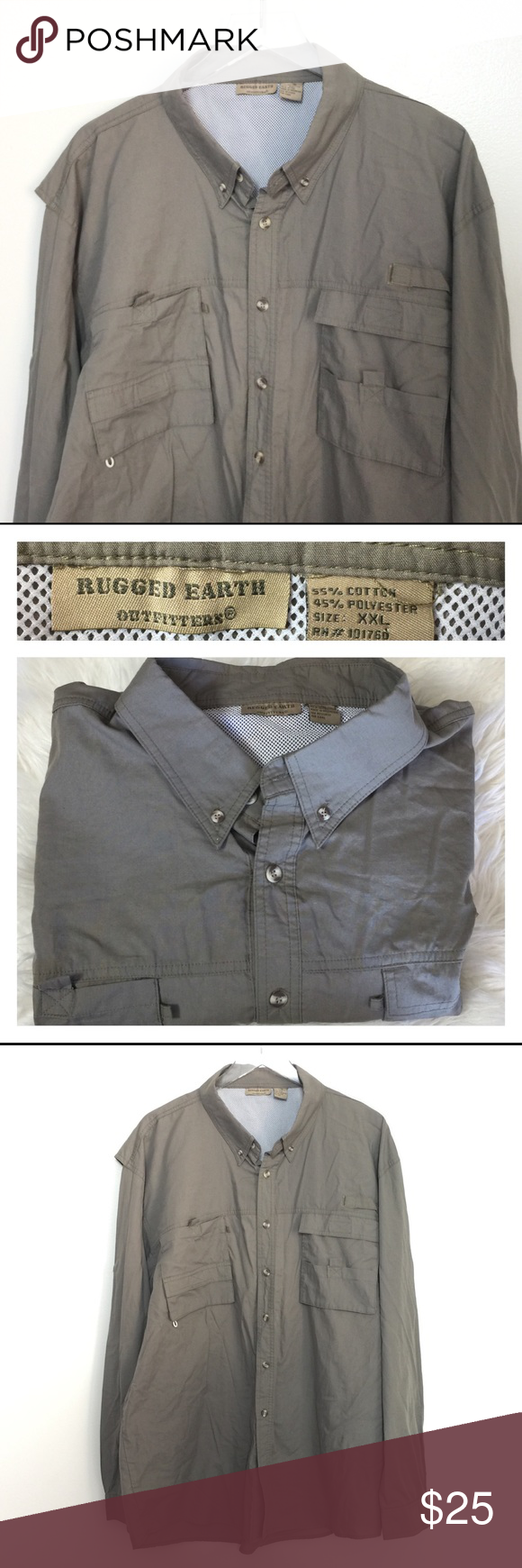 Outdoor On Down Shirt